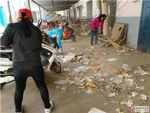 人人参与净化环境美化社区预防疾病