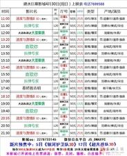 建水巨幕影城4月30日(周日)上映表