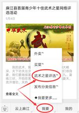 麻江县首届武术之星网络评选活动投票方法?#23433;街?</a