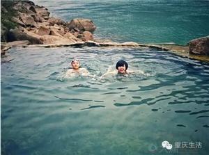 发现一个野温泉!离重庆主城超近!关键知道得人少惨了!