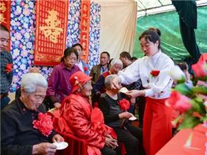 百岁老人过大寿全村群众受教育