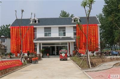 祝贺五河县城关镇中心社区服务中心落成!