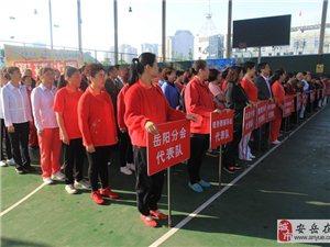 安岳县老年人趣味体育活动比赛现场花絮
