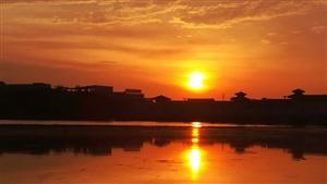【汉洲悦图】日出,今天(5月16日)早上6点,好天气~~~