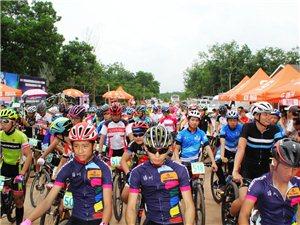 2017年海南省自行车联赛环南丽湖赛(定安站)少男、少女、女子组掠影