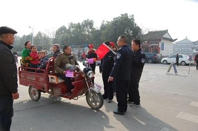 致光山县城区广大电动三轮车、四轮车主的公开信