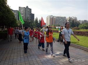 """5月14日,""""青少年创客高校游学活动""""在成都信息工程学院成功举办"""