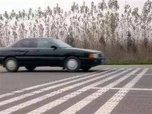 高速上这些标线,不注意车毁人亡