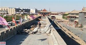 定远营东府花园及王府基础设施提升改造正酣