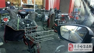 KFC这么多送餐的电动车,都没车牌,合理么?