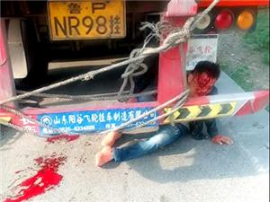 今早105韩寨附近车祸