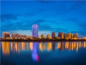 城北新区夜景