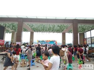 江景郦城6.1儿童节,业主跟孩子一起过