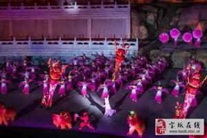 为庆祝宝坻在线天津假期旅行社盛大开业,特价组织去蓟县看天下盘山实景演出