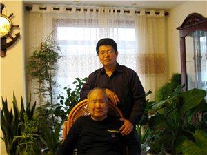 著名书法家刘毅、刘瑞华父子