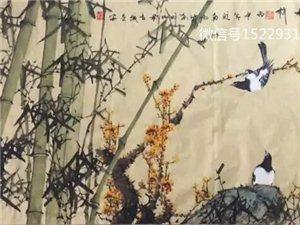 """""""皖南疯竹""""叶明山先生国画精品欣赏"""