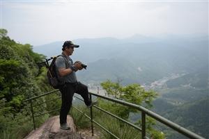 穿越九子岩   登顶天华峰!
