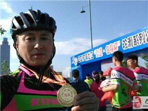 【巴彦网】2017黑龙江省速度轮滑马拉松联赛巴彦人朱宝国荣获第一名!