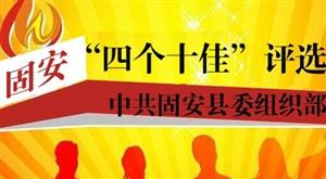 """固安县组织部""""四个十佳""""评选活动"""