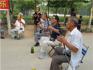 迎【父亲节】阜城县志愿者服务队率西河大鼓戏剧歌曲艺术团为天下父亲送欢乐