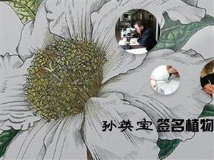 """植物科学画中的""""匠人""""――孙英宝"""