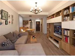 95�O北欧两居,超实用的多功能客厅太赞了!