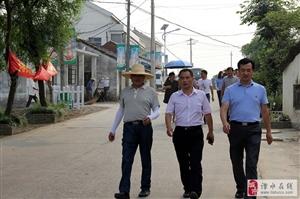 和凤镇组织区、镇人大代表视察环境卫生整治情况