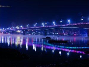 丹江口水都大桥夜景!