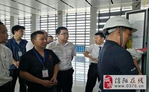 信阳东站开展电梯应急救援演练