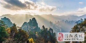 心的旅途:张家界 十里画廊 黄龙洞 国内风景无限好
