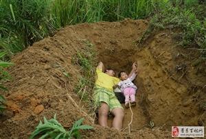 """父亲给重病女儿挖坟称""""提前适应"""""""