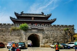 寿县古城楼保存完好
