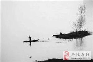 嘉陵江上打渔人家