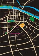 华远・琥珀公馆区位图――广汉市南昌路二段87号琥珀公馆销售中心(图片)