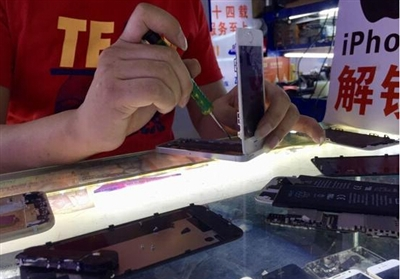 华强北又让老外大开眼界:拼装iPhone只需15分钟