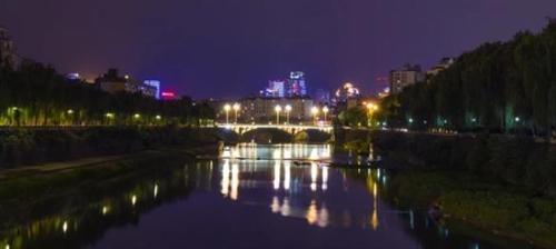 摄影师镜头下的夹江夜景一个字:美!