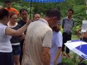 自贡荣边镇一12岁学生拿通知书回家意外坠池塘被淹死