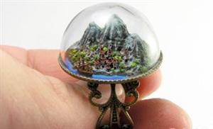 藏在珠宝里的微型世界