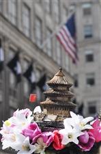 美国纽约复活节,千姿百态的帽子中也有中国元素哦(图片)