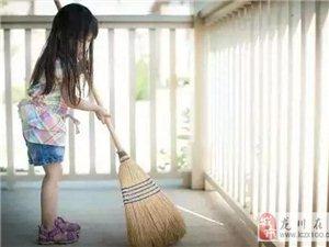 儿童做家务年龄对照表,舍不得用孩子才害了他!