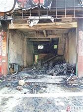 昨晚突然起火!寻乌县菖蒲乡一摩托车店发生火灾,导致20多辆新摩托车被烧毁!