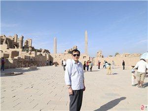 我游览埃及卢克索神庙