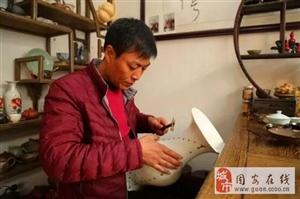 固安民间工艺师张桂聚:金缮,锔瓷