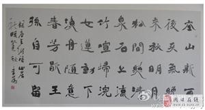 周口书法家李为作品入展全国第八届楹联书法作品展