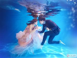 天都影楼小编教你分享怎么在水下拍出美美的照片