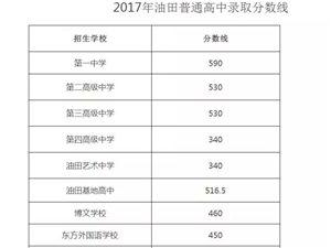 濮阳2017年中考录取分数线公布,快看你家孩子上线没?