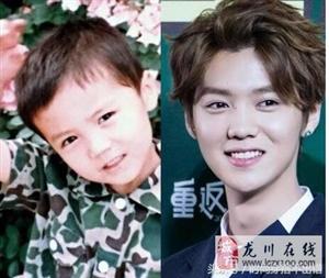 娱乐圈男神女神童年照,看到林更新小时候的样子,我笑了!