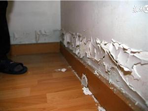你家的墙面掉沙吗?墙面有腻子层脱落空鼓、起皮吗?小心让细菌在家滋生繁殖