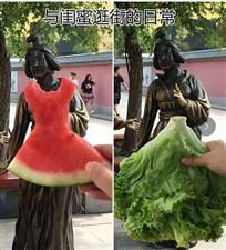 """""""魔性西瓜裙""""入侵临潼,杨贵妃、兵马俑统统穿上啦"""