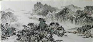 朱德辉先生山水画作品
